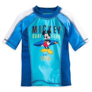 ミッキーマウス ラッシュガード 水着 子供 男の子用 ディズニー UV効果|acomes