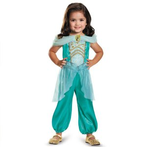 ディズニー コスプレ 子供 コスチューム 人気 ジャスミン 衣装 幼児 女の子 キッズ プリンセス アラジン|acomes