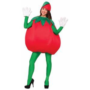 トマト 大人用 コスチューム 野菜 コスプレ パーティー 食べ物 赤 ベジタブル 健康 acomes