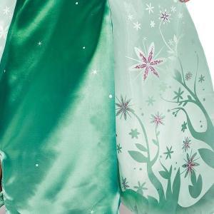 アナと雪の女王 エルサのサプライズ ドレス 子供 女の子用 コスチューム ディズニー プリンセス ハロウィン 仮装 コスプレ|acomes|03