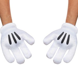 ディズニー ミッキーマウス 手袋 グローブ 大人用 ハロウィン コスプレ コスチューム 衣装 グッズ|acomes