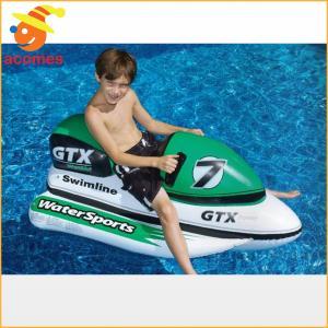 プール 家庭用 水上バイク  ジェットスキー型 浮き輪 ボート 子供用 遊具 おもちゃ プール 海 水遊び グッズ インスタ映え ナイトプール 海水浴 グッズ|acomes