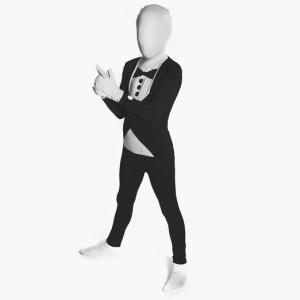 コスプレ 子供 衣装 男の子 人気 全身タイツ おもしろい コスチューム タキシード  全身スーツ|acomes