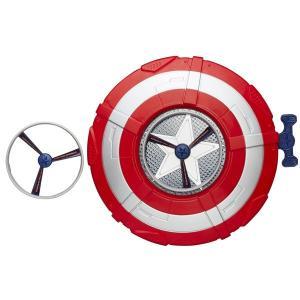キャプテンアメリカ アベンジャーズ エイジ・オブ・ウルトロン  シールド 盾 ディスクが飛び出すシールド おもちゃ マーベルコミック コレクターズアイテム|acomes