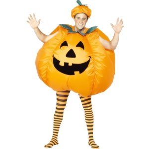 かぼちゃ 膨らむ コスチューム おもしろ 衣装 パンプキン ハロウィン 大人用 着ぐるみ コスプレ 仮装|acomes