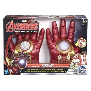 アイアンマン グローブ 光る 手袋 アベンジャーズ キャラクター グッズ コスプレ 変装 おもちゃ 玩具 子供 エイジ・オブ・ウルトロン|acomes