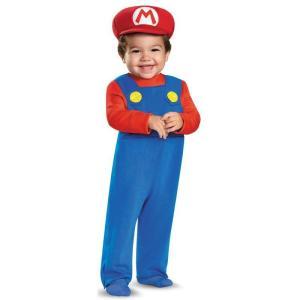 スーパーマリオブラザーズ コスプレ コスチューム 衣装 子供 幼児 赤ちゃん キャラクター 仮装 テレビゲーム|acomes