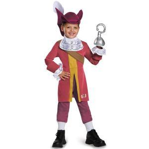 ディズニー ピーターパン ジェイクとネバーランドのかいぞくたち フック船長 コスチューム 幼児用 ハロウィン コスプレ 衣装|acomes