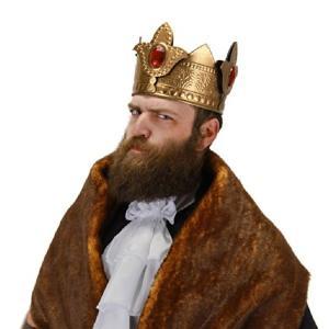 中世 王様 冠 王冠 かんむり ハロウィン コスプレ 小物 パーティー ロイヤル キング クラウン acomes