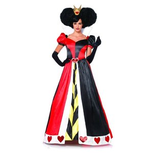 ハートの女王 コスプレ ドレス コスチューム 大人 女性 レディース 衣装 不思議の国のアリス アリスインワンダーランド ディズニー|acomes