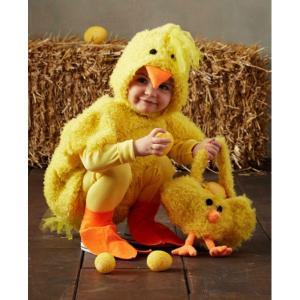 ひよこ ひな 黄色 小鳥 着ぐるみ ぬいぐるみ 赤ちゃん用 幼児用 動物 アニマル コスプレ コスチューム 衣装 グッズ|acomes