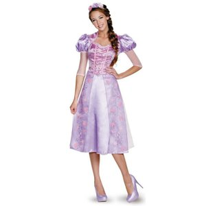 ラプンツェル 衣装 ドレス コスプレ コスチューム 大人 女性用 ディズニープリンセス 仮装 グッズ|acomes
