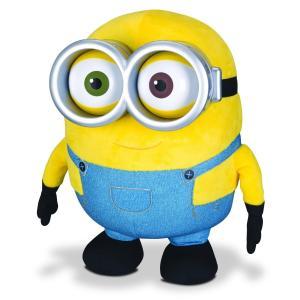 ミニオンズ ジャンボ しゃべる ボブ ぬいぐるみ ギフト プレゼント ユニバーサル 黄色 メガネ バナナ つなぎ クマ|acomes
