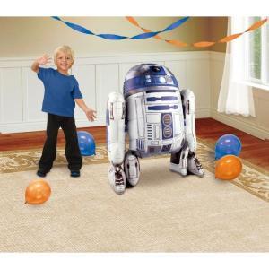 在庫処分市 スターウォーズ パーティグッズ R2D2 R2-D2 風船 部屋 飾り デコレーション 室内装飾 ホイル箔のバルーン あすつく|acomes