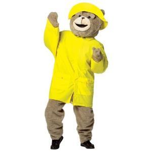 ハロウィン TED テッド 着ぐるみ用 レインコート 大人 コスチューム コスプレ 雨具 衣装 マスコット 動物 くま 映画 キャラクター|acomes