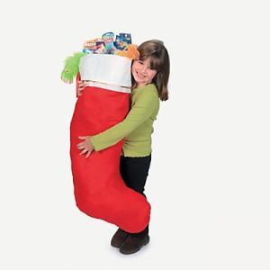 クリスマス 靴下 ソックス 大きい ビッグ・ジャンボサイズ プレゼント入れ お菓子入れ|acomes