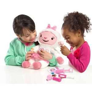 おもちゃ 玩具 ドックはおもちゃドクター ラミー ひつじ しゃべる ぬいぐるみ セリフ 音 しゃべるおもちゃ 英語 教材 知育 クリスマス ギフト プレゼント|acomes|02