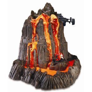 スターウォーズ グッズ おもちゃ 流れる火山 フィギュア オビワン アナキン 子供 科学 化学 知育 玩具 サイエンス トイ 火山活動|acomes
