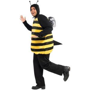 ミツバチ コスプレ みつばち 衣装 大きいサイズ コスチューム 大人 昆虫 蜂 仮装 着ぐるみ|acomes