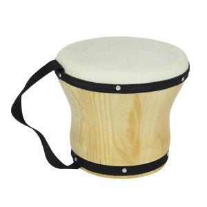 ボンゴ シングル 小 楽器 パーカッション 打楽器 子供用 音楽 おもちゃ 知育玩具 クリスマス プ...