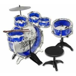 ドラムセット ドラムキット 子供 11ピース 楽器 パーカッション 打楽器 音楽 ロック おもちゃ 知育玩具 クリスマス プレゼント ギフト|acomes|04