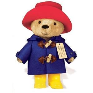 パディントン パディントンベア ぬいぐるみ 10インチ(25.4cm) 黄色い長靴 くま クマ 動物 人形 おもちゃ 映画 キャラクター|acomes