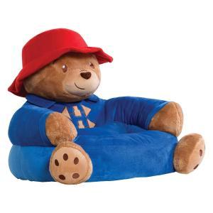幼児 子供 赤ちゃん ベビー いす ソファー パディントン パディントンベア ぬいぐるみ風 チェアー くま クマ 動物 人形 おもちゃ 映画 キャラクター|acomes