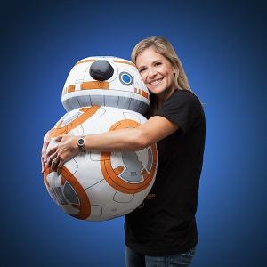 BB-8 BB8 大きい ぬいぐるみ クッション 抱き枕 インテリア スターウォーズ エピソード7 フォースの覚醒 グッズ ドロイド ロボット acomes