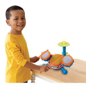 幼児 ドラム おもちゃ 楽器 音楽 ミュージックトイ 子供 子ども キッズ リズム 玩具 Vtech|acomes