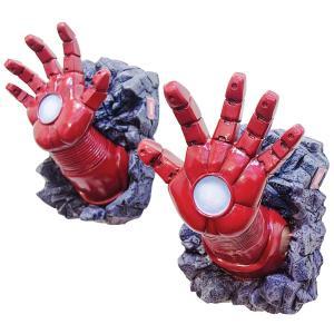 アイアンマン 手 壁飾り インテリア デコレーション 装飾 レリーフ アベンジャーズ アメリカン コミック マーベル スーパーヒーロー コレクターズアイテム|acomes