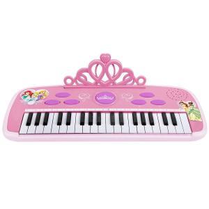 幼児 キーボード ピアノ おもちゃ ディズニープリンセス ピンク 子供 子ども 電子楽器 鍵盤 玩具 リズム 音楽 教育 知育玩具 ミュージックトイ