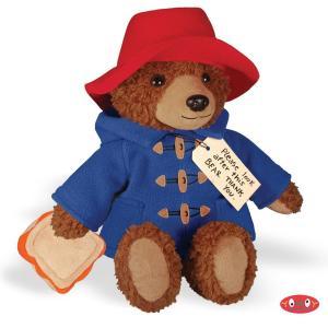 ぬいぐるみ パディントン 12インチ 約31cm くまのパディントン テディベア おもちゃ 玩具 人形 映画 コレクターズアイテム グッズ|acomes