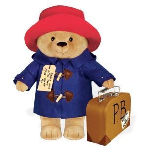 ぬいぐるみ パディントン 16インチ 約41cm くまのパディントン テディベア おもちゃ 玩具 人形 映画 コレクターズアイテム グッズ|acomes