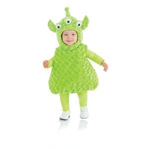 赤ちゃん 着ぐるみ エイリアン 宇宙人 コスチューム コスプレ ベビー 幼児 子供 子ども キャラクター 服 きぐるみ|acomes