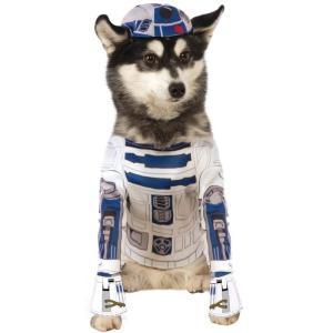犬 服 スターウォーズ R2-D2 ペット ディズニー コスチューム コスプレ お散歩 年賀状 戌年|acomes