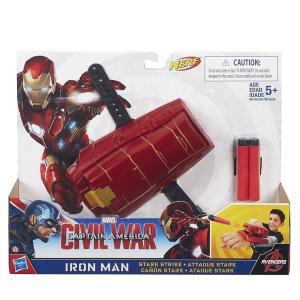 アイアンマン おもちゃ 手 腕 アーム 武器 子供用 スターストライク アベンジャーズ キャラクター ヒーロー グッズ|acomes