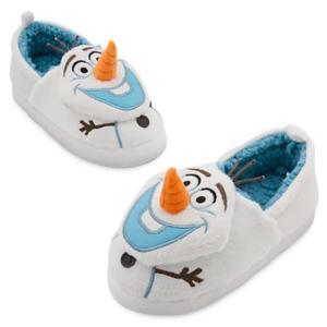 ディズニー コスプレ 子供 コスチューム 人気 オラフ 幼児 室内 靴 スリッパ アナと雪の女王 ギフト プレゼント|acomes