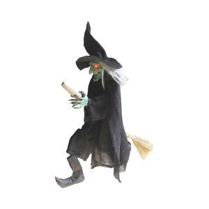 魔女 人形 ハロウィン 飾り 装飾 デコレーション インテリア グッズ|acomes