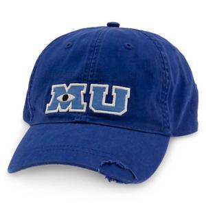 モンスターズ・ユニバーシティ マイク 大人用 野球帽 ディズニー MU 青い 帽子 グッズ acomes