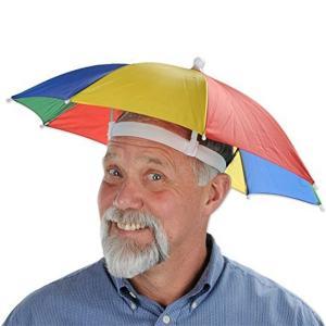 傘 ハット おもしろ 帽子 かぶりもの 日よけ グッズ イベント パーティー ハロウィン ぼうし acomes