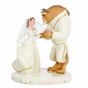 ディズニー 美女と野獣 LENOX レノックス フィギュア インテリア 結婚式 ウェディング キャラクター グッズ 置き物 人形 acomes
