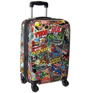 マーベルコミック グッズ キャリーバッグ キャリーケース 機内持ち込み可能 53cm アメコミ アメリカンコミック 旅行かばん トランク スーツケース カバン|acomes