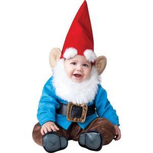 ガーデンノーム コスチューム 赤ちゃん用 幼児用 小人 こびと 白雪姫 地の精 妖精 庭 置物 ハロウィン コスプレ 衣装|acomes