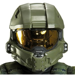 ヘイロー Halo マスターチーフ 子供用 フルフェイス ヘルメット ハロウィン コスプレ ゲーム イベント ペティオフィサー ジョン 117 acomes