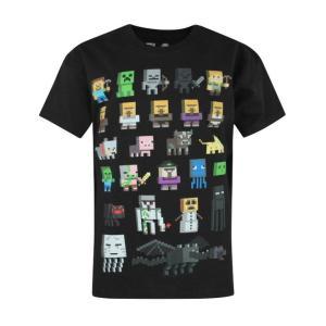 コスプレ 子供 衣装 男の子 人気 マイクラ キャラクター Tシャツ マインクラフト ハロウィン  イベント ギフト プレゼント テレビゲーム|acomes