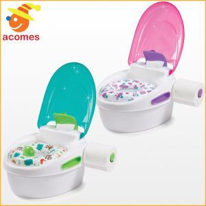 18ヵ月から5歳向け 3つの使い方が可能な幼児向け便器/便座です。お子様のトイレトレーニンググッズと...