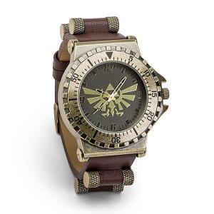 ゼルダの伝説 腕時計 レザー ウォッチ 父の日 ギフト プレゼント