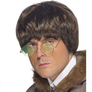 ビートルズ ウィッグ かつら グループサウンズ 60年代 70年代 メンズ 茶色 ハリーポッター  ハロウィン イベント ズラ ユニバ コスプレ usj acomes
