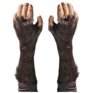 コスプレ チンパンジー リアル グローブ 大人用 腕 手 ハロウィン イベント パーティー 猿の惑星|acomes