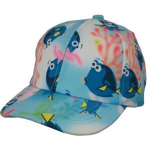 ファインディングドリー グッズ 水中を泳ぐドリー キャップ 野球帽 ベースボールキャップ 帽子 ディズニー ピクサー 映画 ニモ キャ|acomes